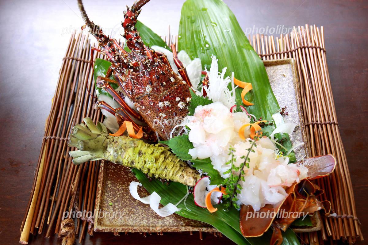 Sashimi of lobster Photo
