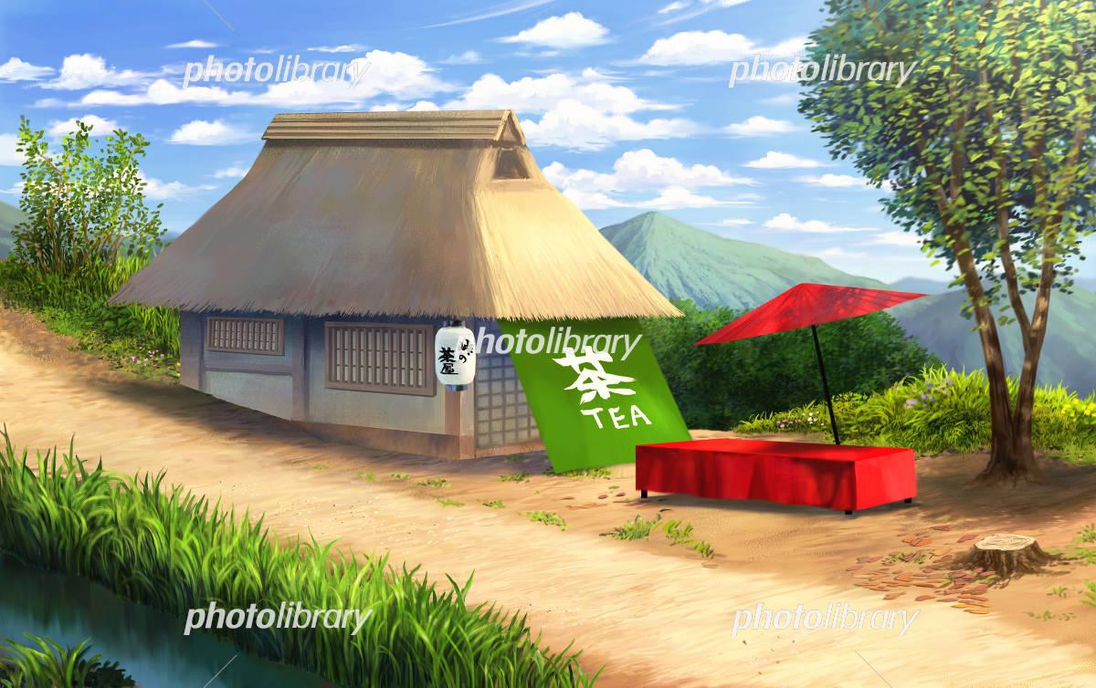 峠の茶屋 イラスト素材 4030051 フォトライブラリー Photolibrary