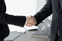Business Image - contract formation Stock photo [4021342] Business
