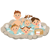 Hot spring in the family [4023530] Hot
