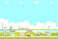 Town landscape [4167209] Town