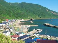 Oga Peninsula Kamo Aosuna village and harbor Stock photo [144569] Summer