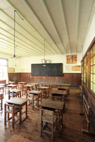 Old Kamioka elementary school classroom Stock photo [4783166] Old