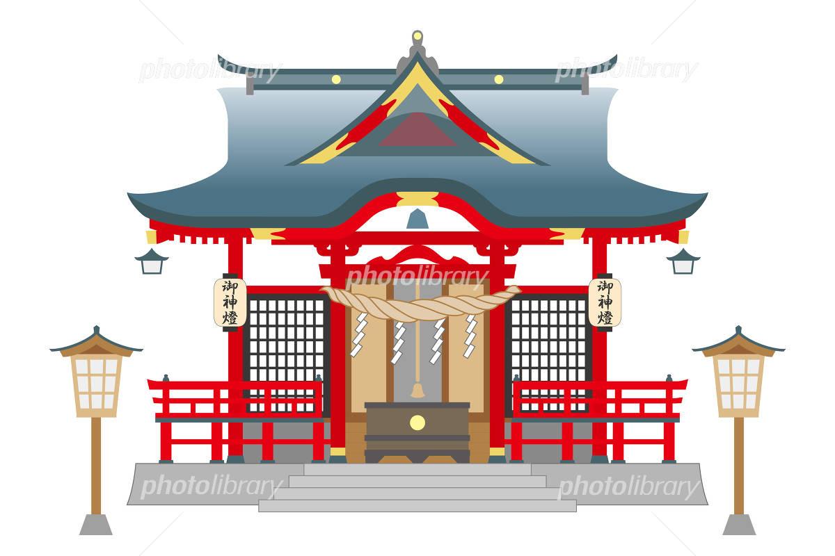 神社 イラスト素材 4874466 フォトライブラリー Photolibrary