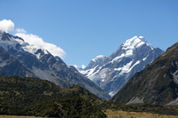 New Zealand Mount Cook Stock photo [4867707] new