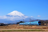 Fuji and Romancecar Stock photo [4869488] Odakyu