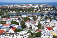 From Reykjavik city hallgrímskirkja Stock photo [4974534] Iceland