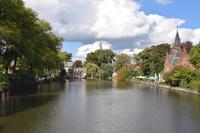Lake Park of love Stock photo [4974548] Belgium