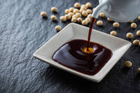 Pour the soy sauce Stock photo [4981585] soy