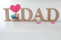 Father's Day greeting card Stock photo [5070029] Father's
