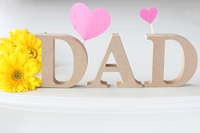 Father's Day greeting card Stock photo [5070030] Father's