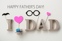Father's Day greeting card Stock photo [5070032] Father's