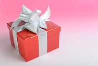 A red box gift Stock photo [5072108] Red