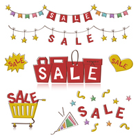 Sale decoration text [5074939] Sale