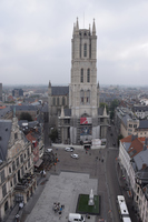 From Ghent bell tower Stock photo [5076711] Ghent