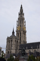 Notre Dame Cathedral Antwerp Stock photo [5077252] Belgium