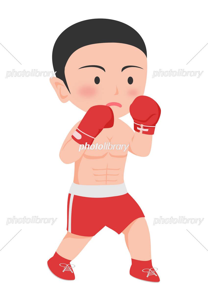 ボクシング ボクサー イラスト素材 5255619 フォトライブラリー