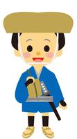 イラスト A man in the era of the era during the Edo period(5258158)