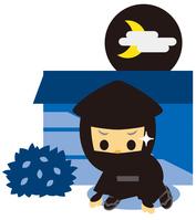 イラスト Edo period era play ninja(5258163)