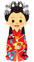 イラスト Edo era era warrior female princess(5258164)