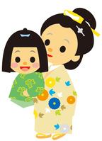 イラスト The era of the Edo period The mother-in-law and the mother(5258166)