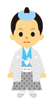 イラスト Edo period drama samurai male otoshimono(5258167)