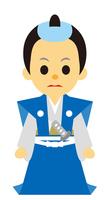 イラスト Edo period era play samurai no men(5258169)