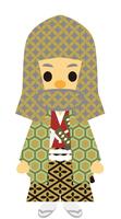 イラスト Edo period era play samurai male hood(5258172)