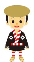 イラスト Edo era era drama samurai intermediary fellow(5258182)