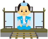 イラスト Edo era era dramatized magistrate(5258214)