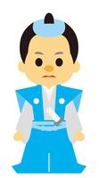 イラスト Samurai of the Edo period era play(5258216)