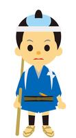 イラスト How to catch the era during the Edo period(5258220)