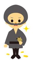 イラスト Edo period era play drama thief(5258232)