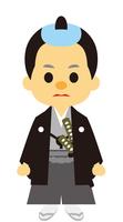 イラスト Edo period era play samurai(5258238)