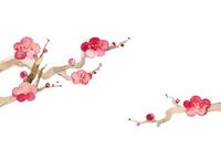 イラスト Plum blossoms, large and small(5258719)