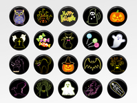 イラスト Halloween icon set(5259120)