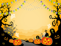 イラスト Seamless Halloween Background(5259129)