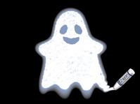 イラスト Ghost painted with crayons(5259148)