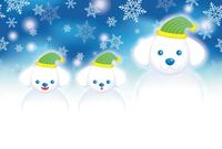 イラスト New Year card / Christmas card template(5259240)