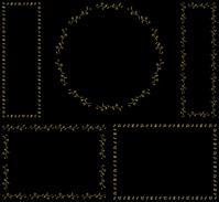 イラスト Musical note frame set(5259288)