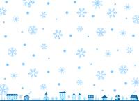 イラスト City of snow crystal(5259303)