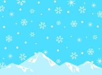 イラスト Snow Crystal Mountains(5259645)