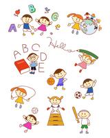 イラスト Elementary school English sports(5259824)