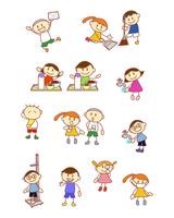 イラスト Elementary school student cleaning catering school health(5259825)