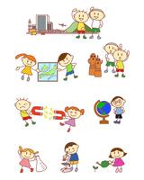 イラスト Elementary school social studies science department life department(5259830)