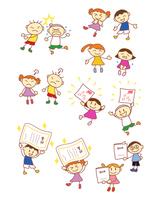 イラスト Elementary school emotional record(5259834)