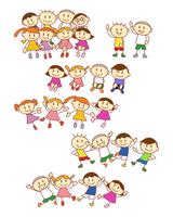 イラスト Elementary school students line up(5259836)