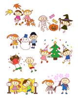 イラスト Elementary school year event season(5259839)