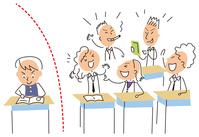 イラスト Students studying at their own pace(5259901)