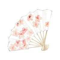イラスト Folding fan, cherry tree(5260115)